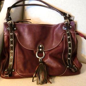 Gorgeous Large Leather Cavalcanti Bag